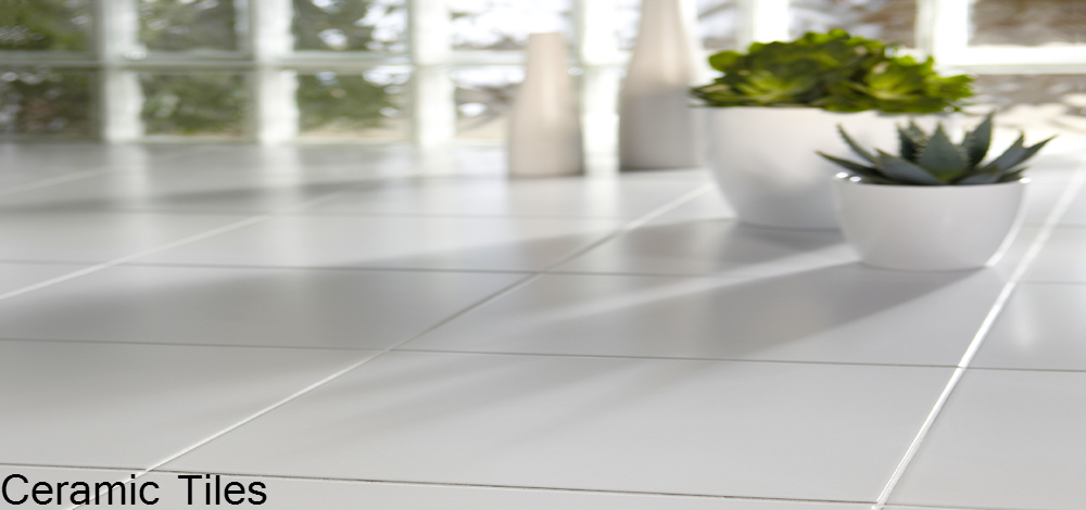 Milton Keynes Flooring - White Ceramic Floor Tiles
