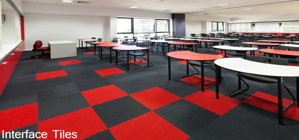 Milton Keynes Flooring - Interface Carpet Tiles