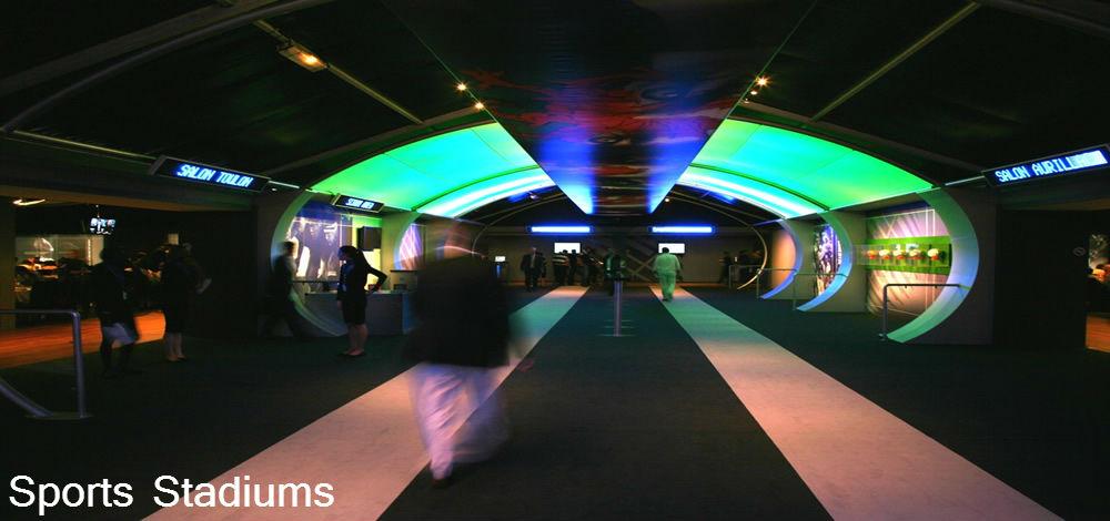 Milton Keynes Flooring - Sports Stadium
