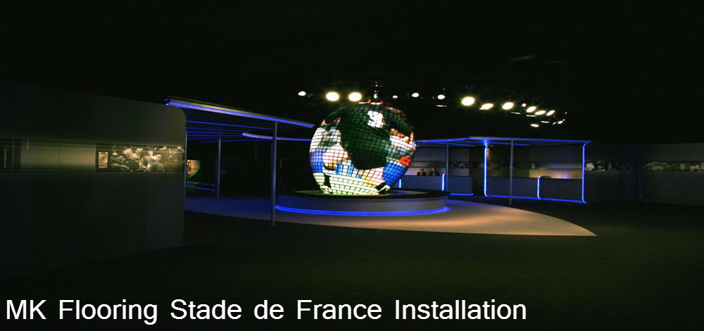 Milton Flooring Stade De France Commercial Installation